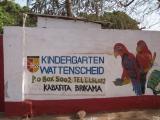 Eingangstor zum Kindergarten