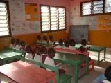 Ein Klassenraum im Kindergarten