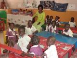 Gemeinsames Lernen in einem der Klassenräume