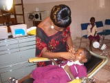 Denn dann freut sich auch die Zahnärztin der Dentalstation des Kindergartens.
