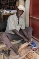 Bilder aus Gambia, hier vom Kunsthandwerkermarkt in Serrekunda